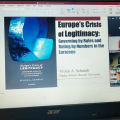 Member of the project team Zhanbulatova R.S.took part in an online seminar organized by the Center for European Studies (SciencePo, Paris)